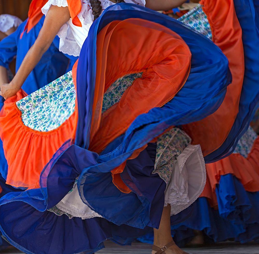 bailes folcloricos de Costa Rica