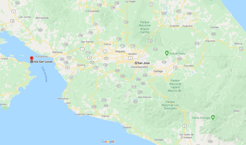 Como llegar a Isla San Lucas
