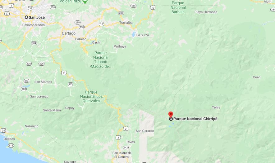 Como llegar a Parque Nacional Chirripó