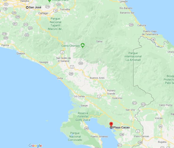 Cómo llegar a Playa Cacao, Costa Rica