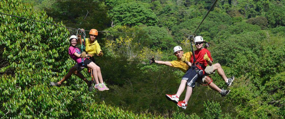 Santuario Canopy Adventure Tour