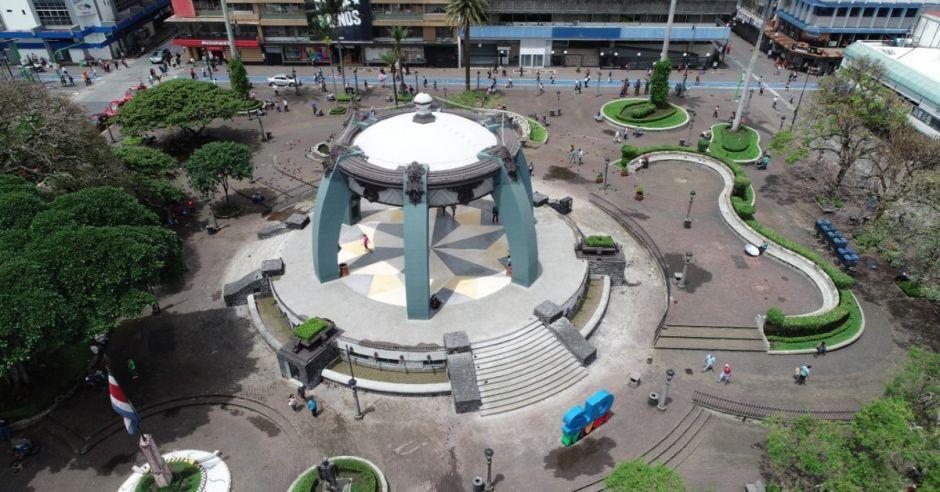 Parque Central San José Costa Rica
