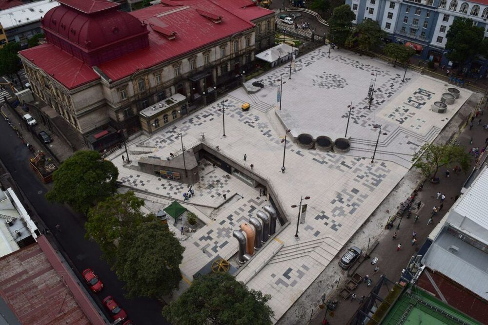 Plaza de la Cultura San Jose Costa Rica