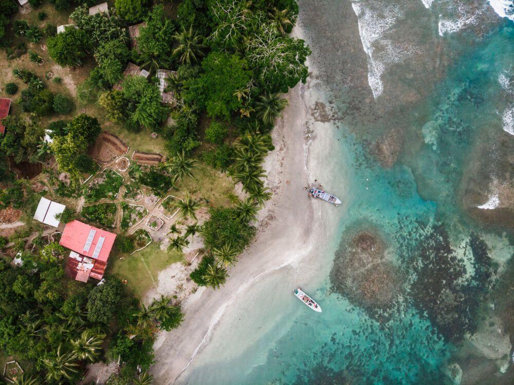 Dónde está Punta Mona, Costa Rica