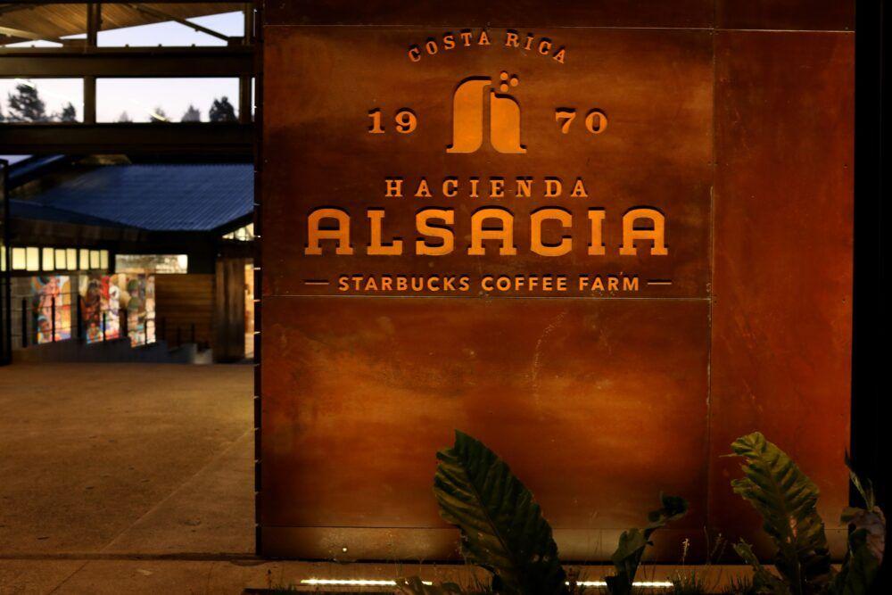 Hacienda Alsacia Starbucks Coffee Fram